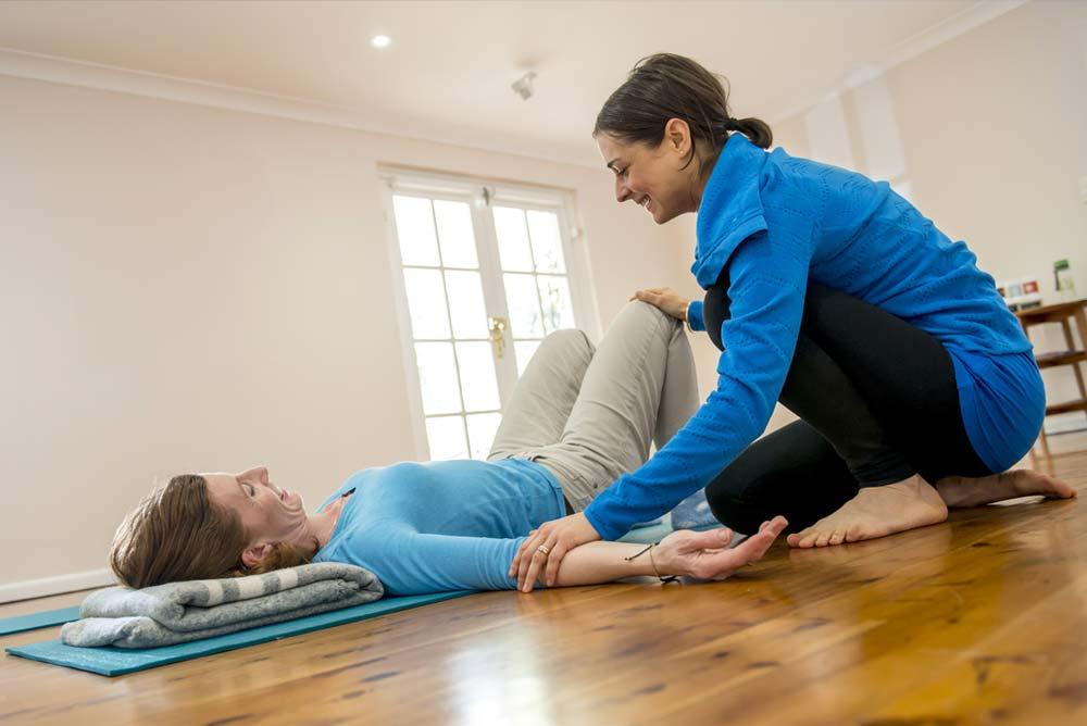 Private Yoga with Alexandra Plane Sydney