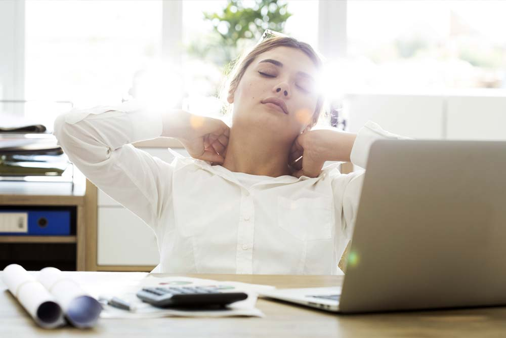 Corporate Massage to Reduce Stress
